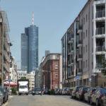MAIN TOWER - Hochhaus der Helaba - Wolkenkratzer Hessische Landesbank - Bankenviertel Frankfurt