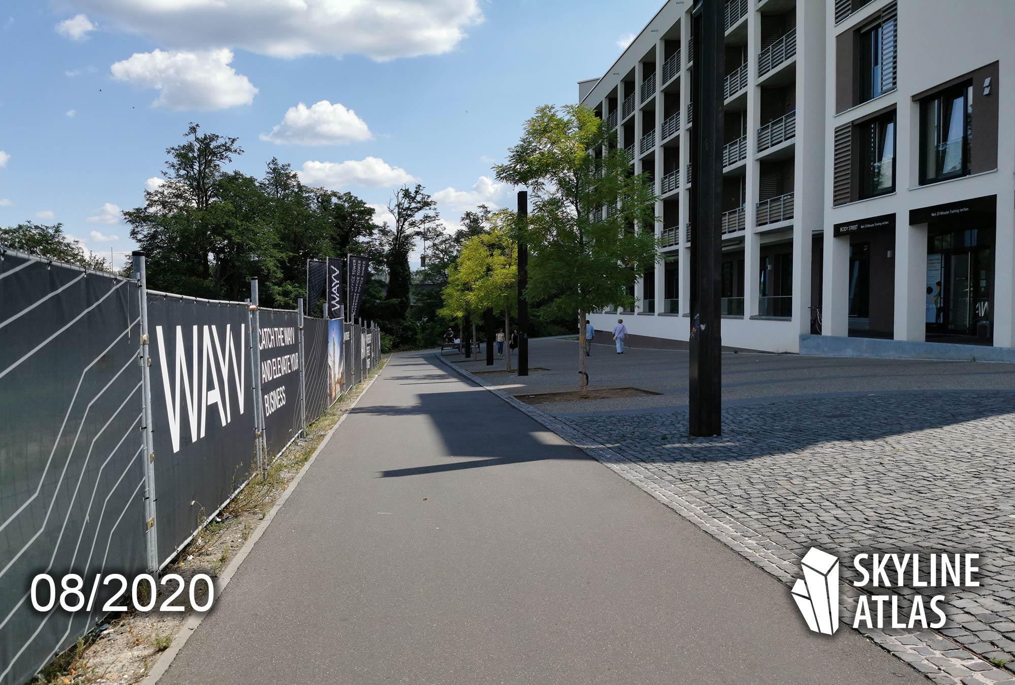 Wayv Offenbach - Riverside Office Tower - Büroflächen Hafen Offenbach - Moderne Büros zur Miete im Offenbacher Hafen - Blackolive Immobilienmakler - Black Olive Makler