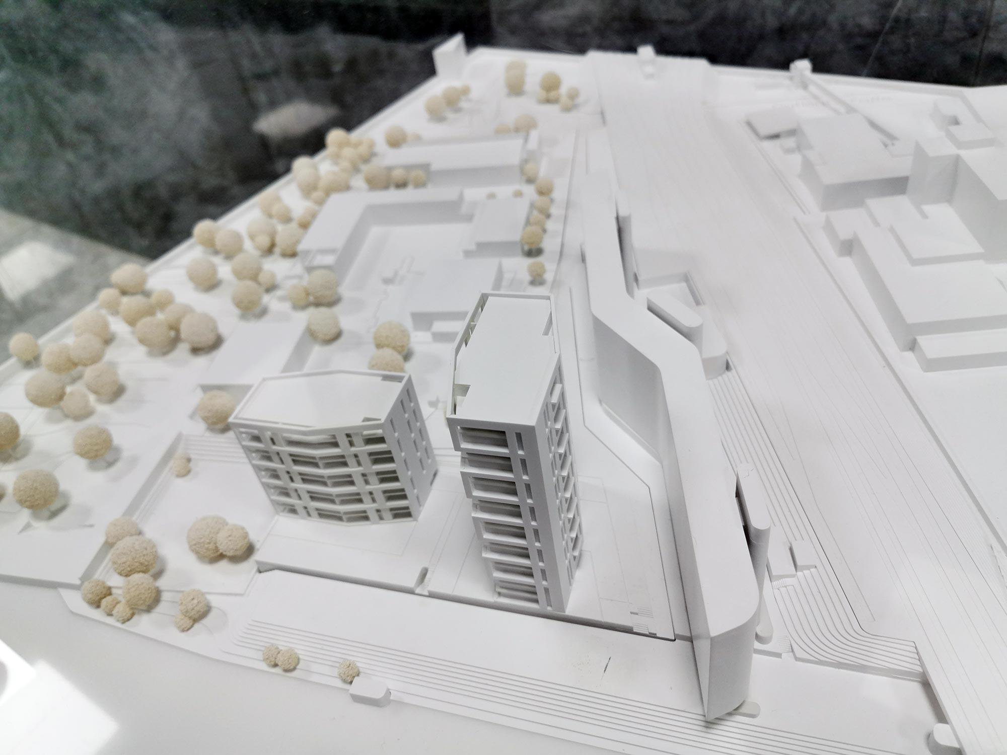 CMA Architekten - Wohnen am Sommerhoffpark - Hochhäuser Mainufer Frankfurt am Main