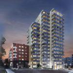 Great East Frankfurt - Neubau - Wohnturm im Frankfurter Ostend - Neubauprojekt - Neubauwohnungen zum Kauf oder zur Miete