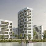Hochhaus Sommerhoffpark - The Fizz Frankfurt - Wohnquartier am Westhafen - CMA Rendering