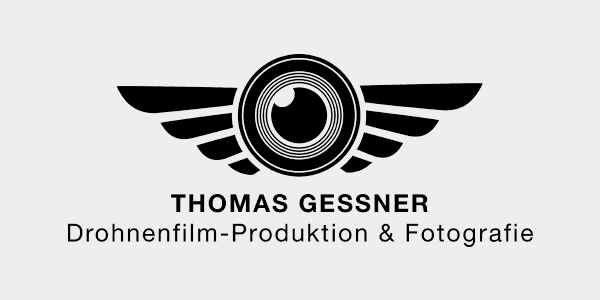 Logo THOMAS GESSNER - DROHNENFILM PRODUKTION & FOTOGRAFIE - Fotograf Frankfurt - Drohnenflug Frankfurt