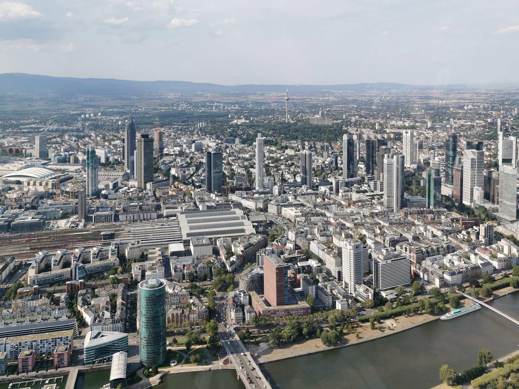 Hochhaus-Entwicklungsplan 2021: Drei Hochhauscluster für Frankfurt