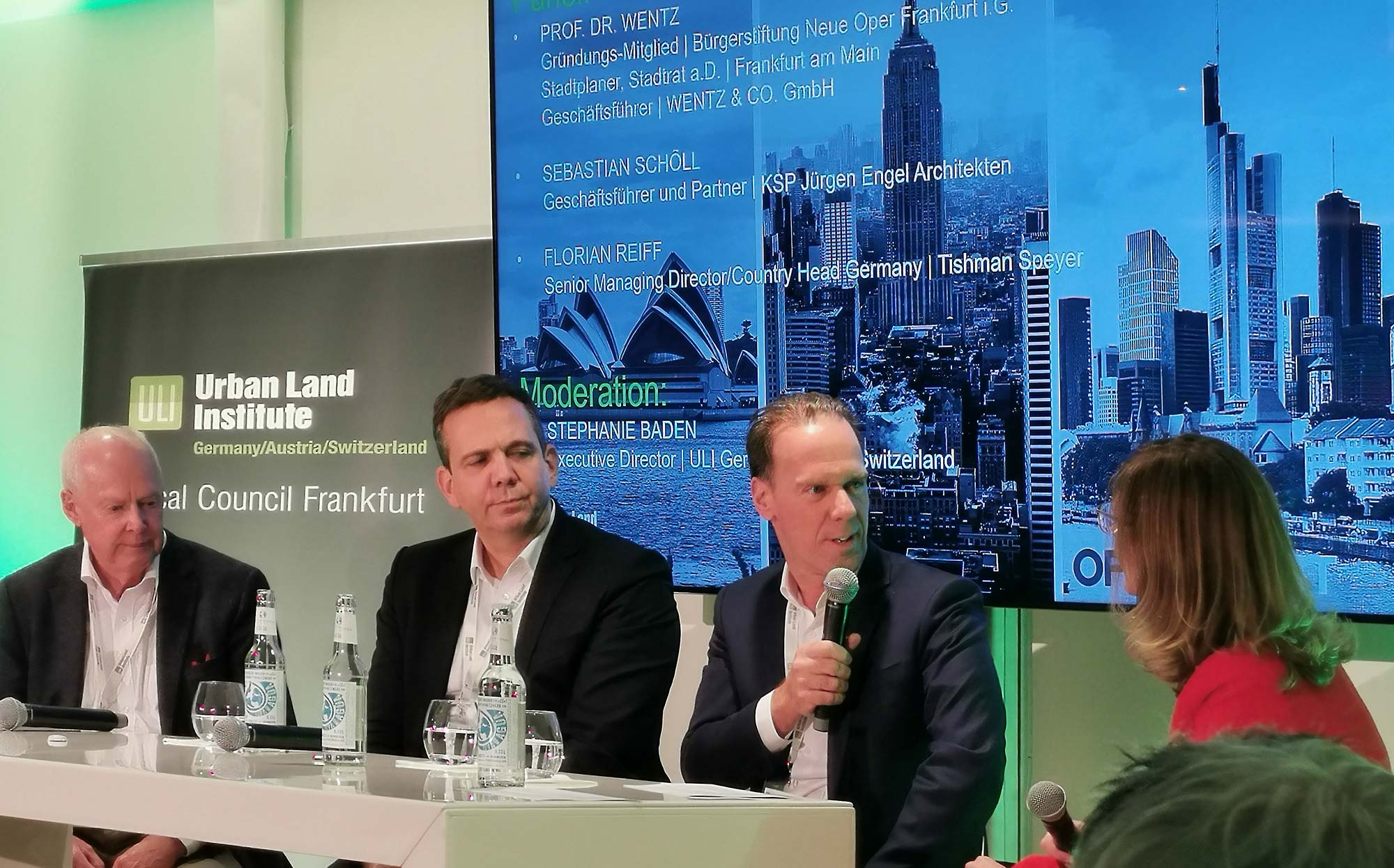 Immobilien Diskussion 2019 - Landmark Buildings - ULI - Urban Land Institute - Martin Wentz - Sebastian Schöll - Florian Reiff