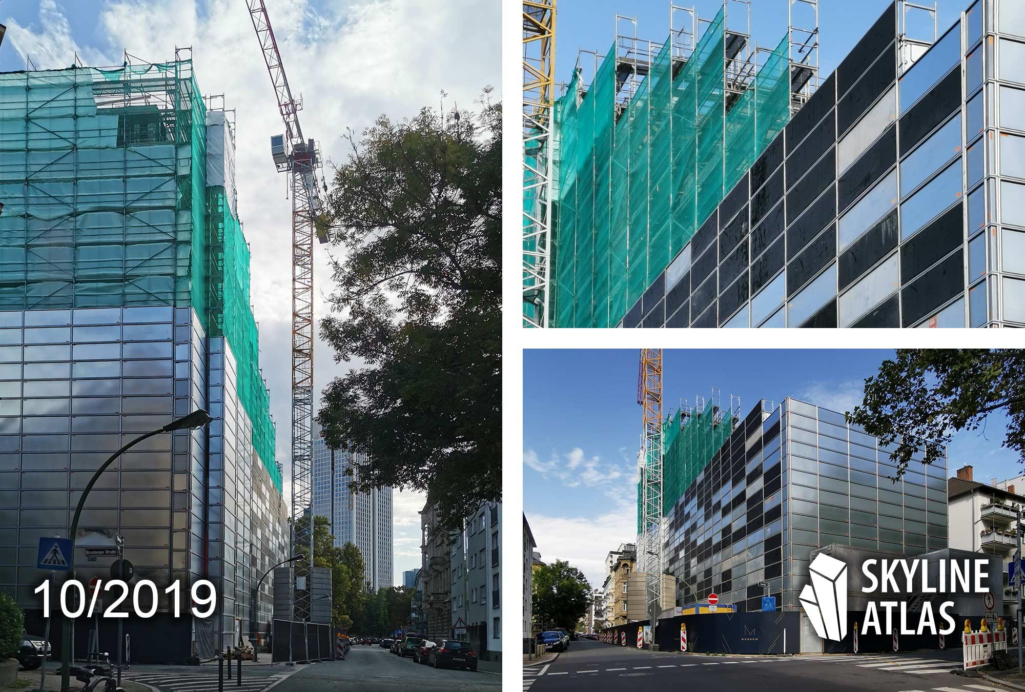MORROW in Frankfurt am Main - Bürogebäude im Westend - Büroflächen zur Miete - Neubau Westen Frankfurt - Oktober 2019