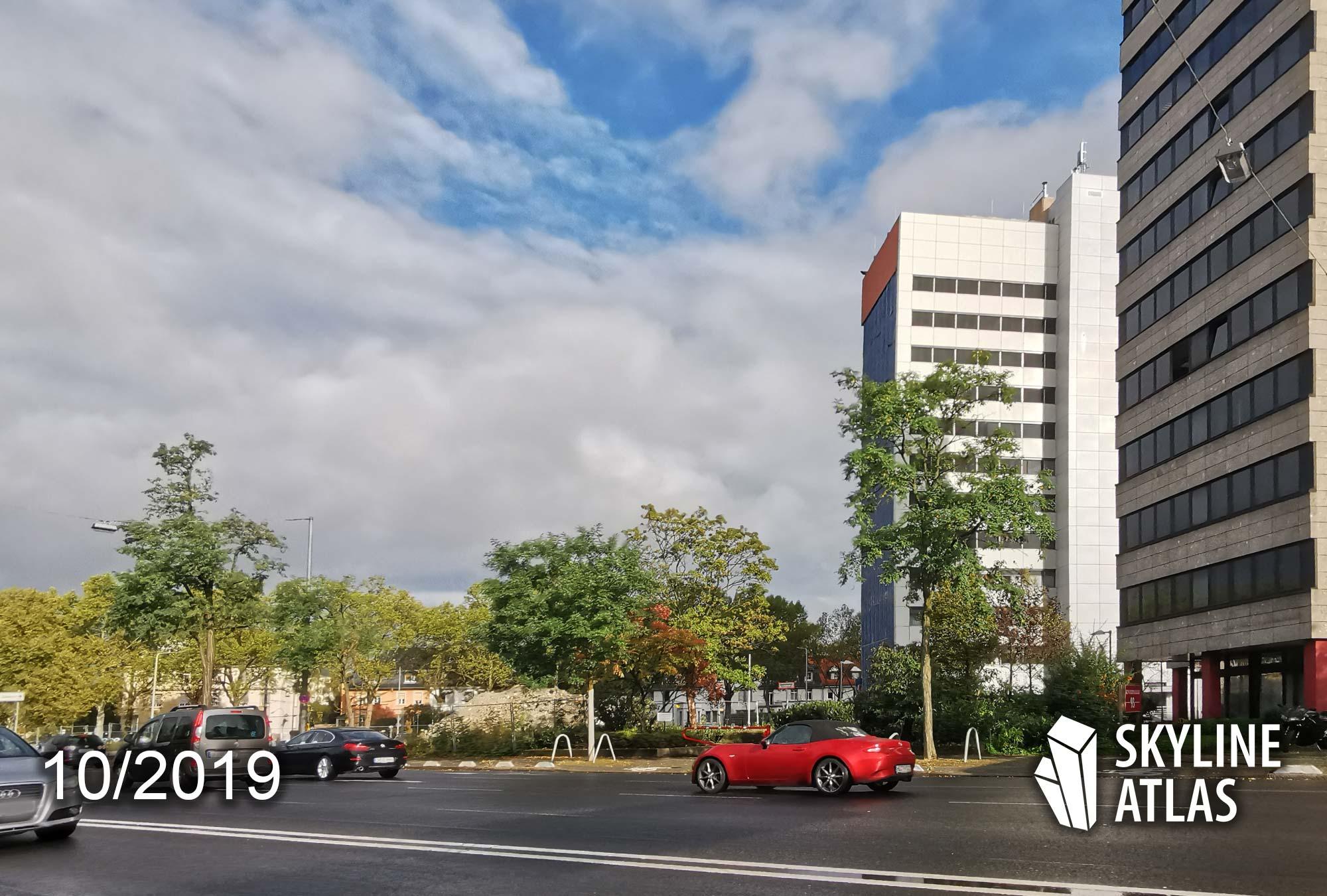 Wohnhochhaus Kennedyallee Frankfurt - Eike Becker Architekten