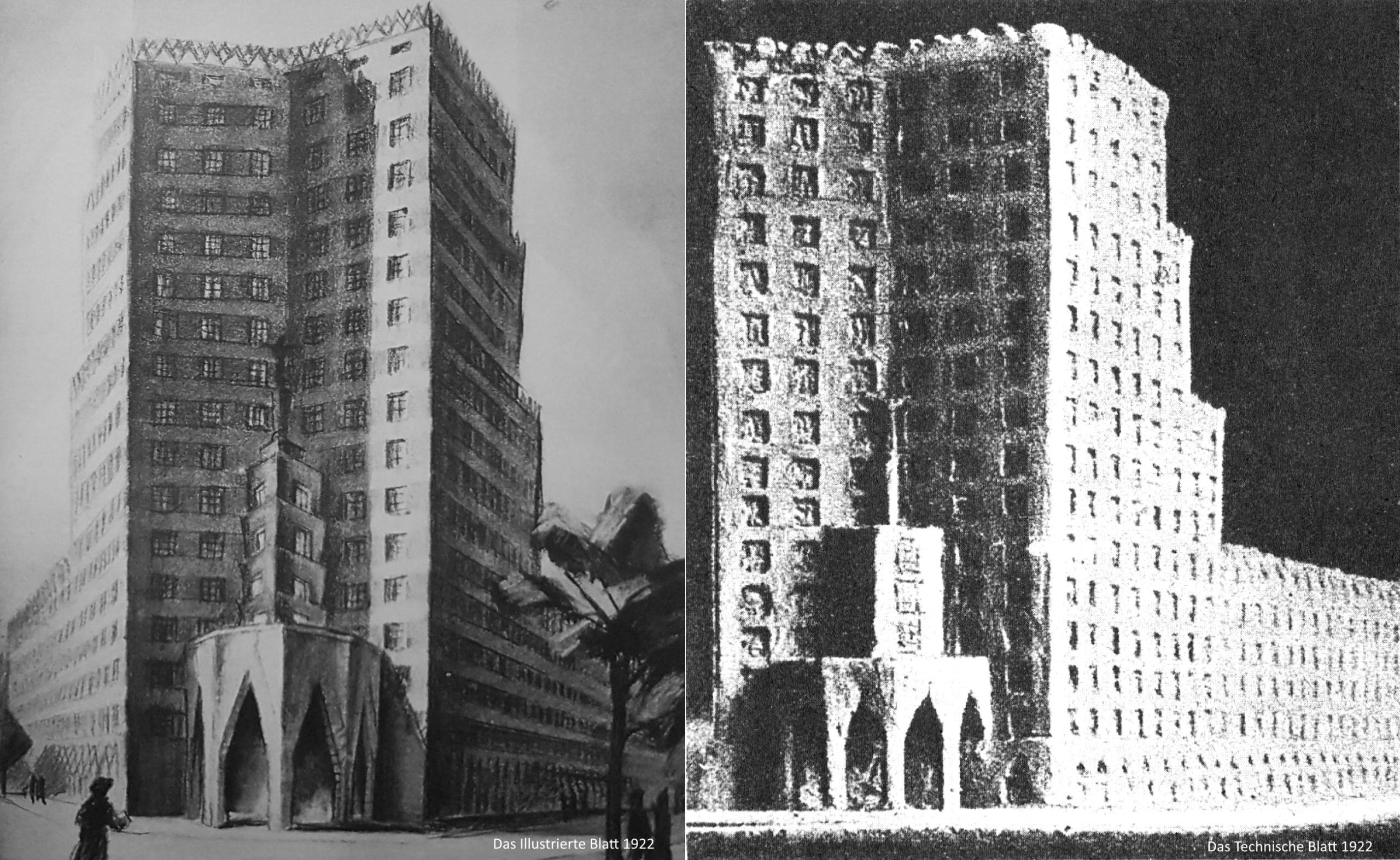 Das erste Hochhausprojekt in Frankfurt scheiterte an den Nachbarn