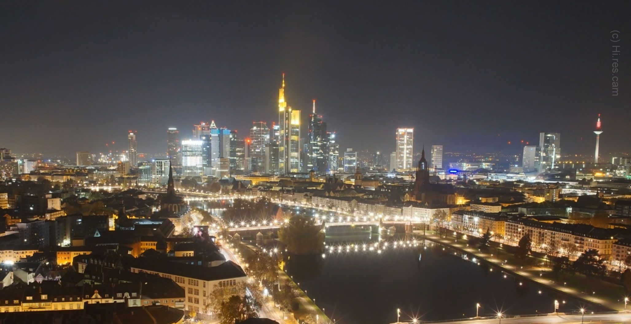 Mainhattan Webcam Frankfurt