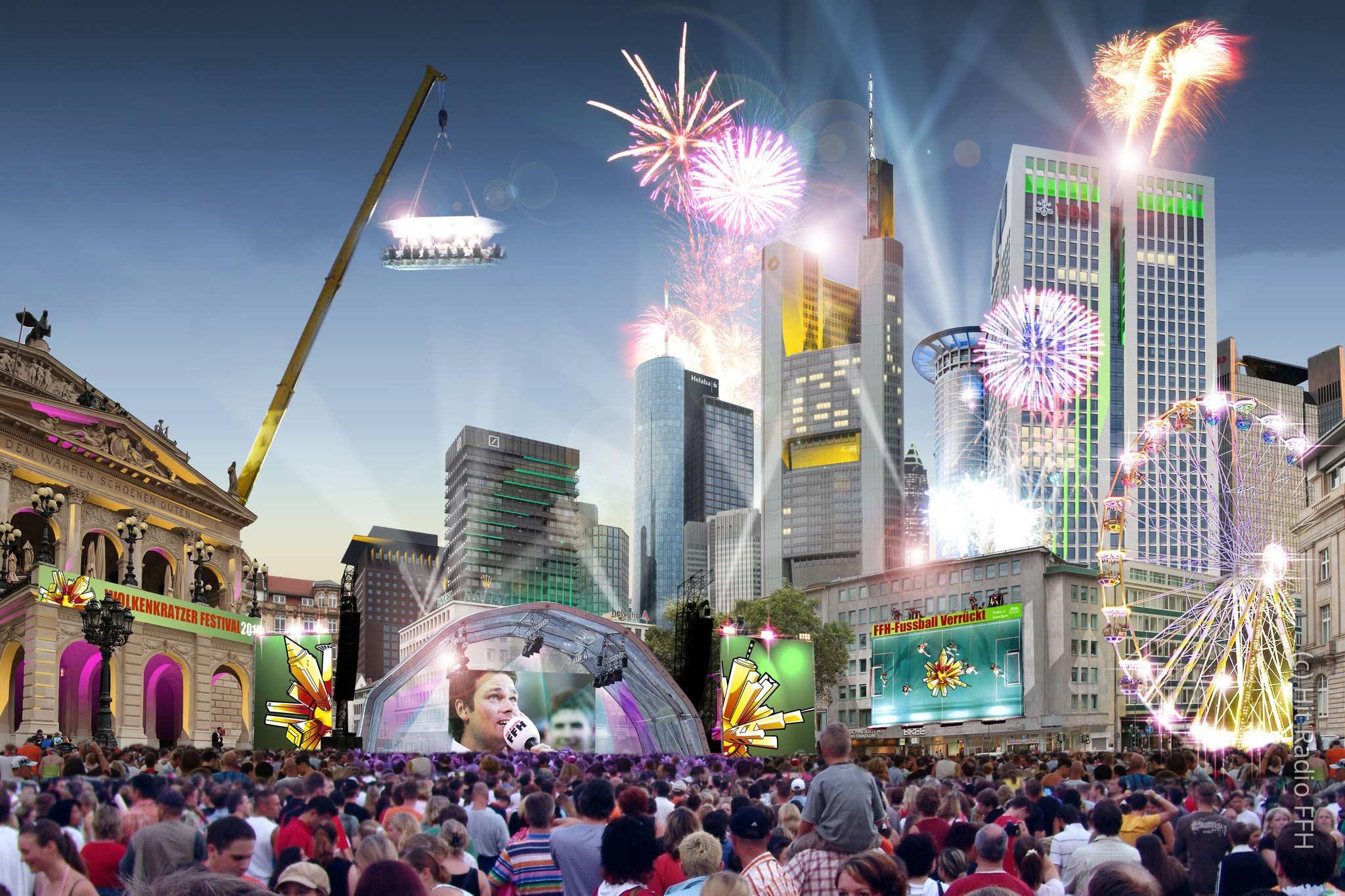 Wolkenkratzer Festival FFM