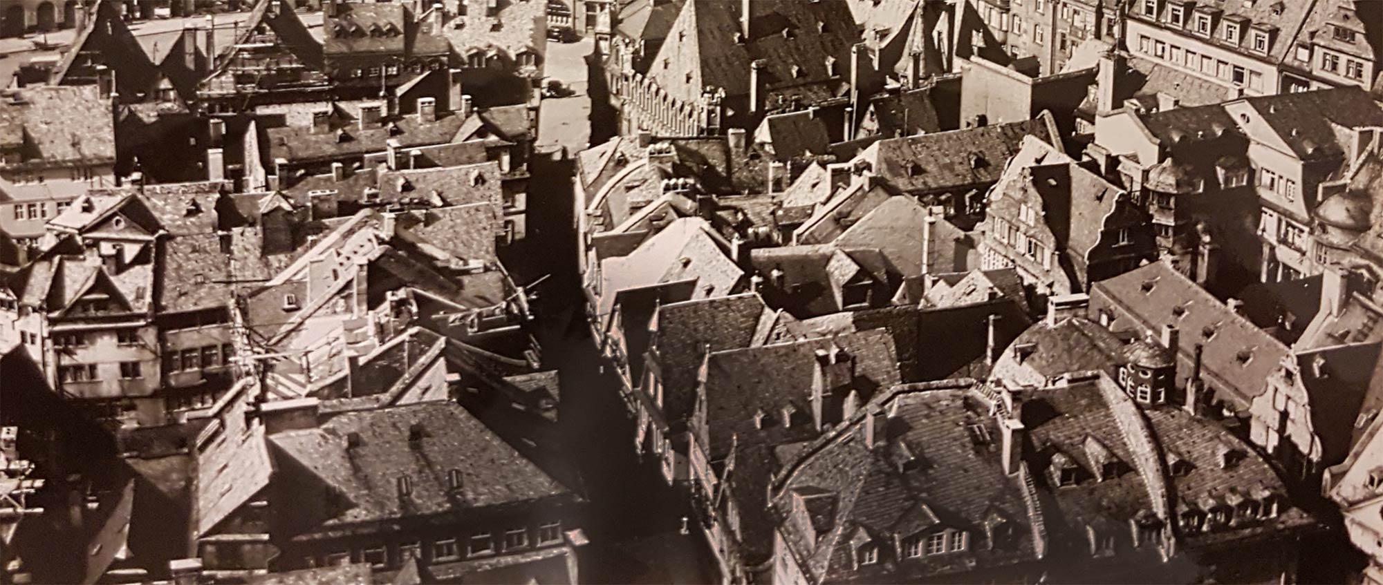 Altstadt Frankfurt 1941 - historische Gebäude