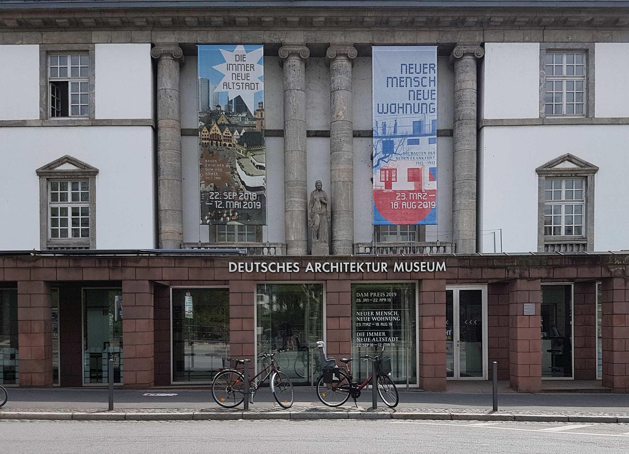 DAM Frankfurt - Deutsches Architekturmuseum - Museum für Architektur - Oswald Mathias Ungers - Museum am Museumsufer Frankfurt