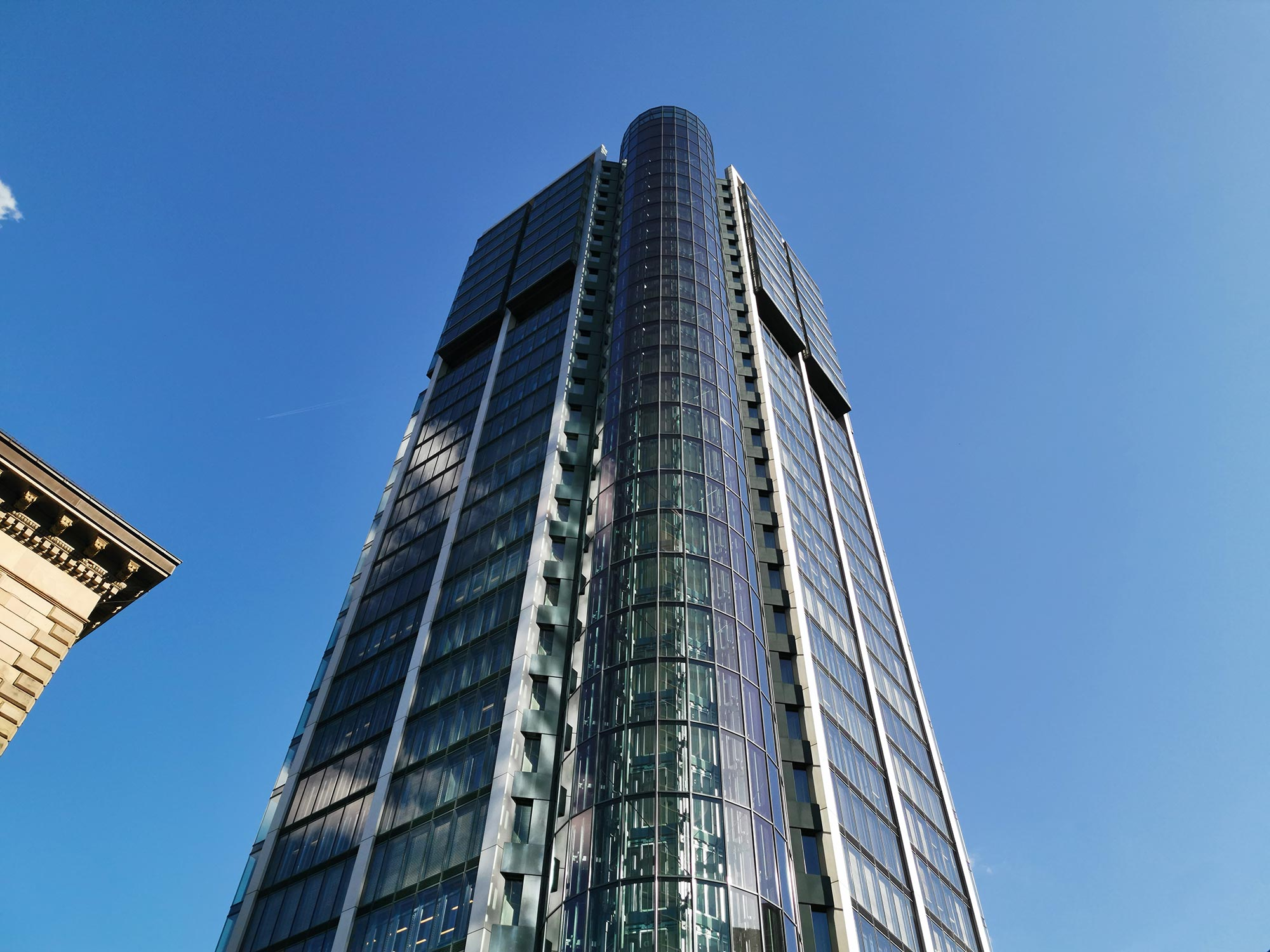 Eurotheum Hochhaus Frankfurt am Main - Fassade vom Hochhausturm