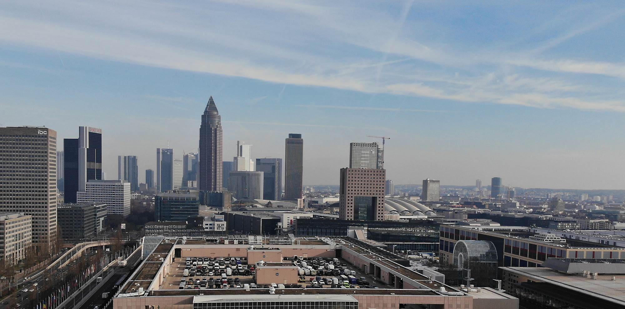 Höchste Hochhäuser - Frankfurter Wolkenkratzer - Top 10 Hochhäuser