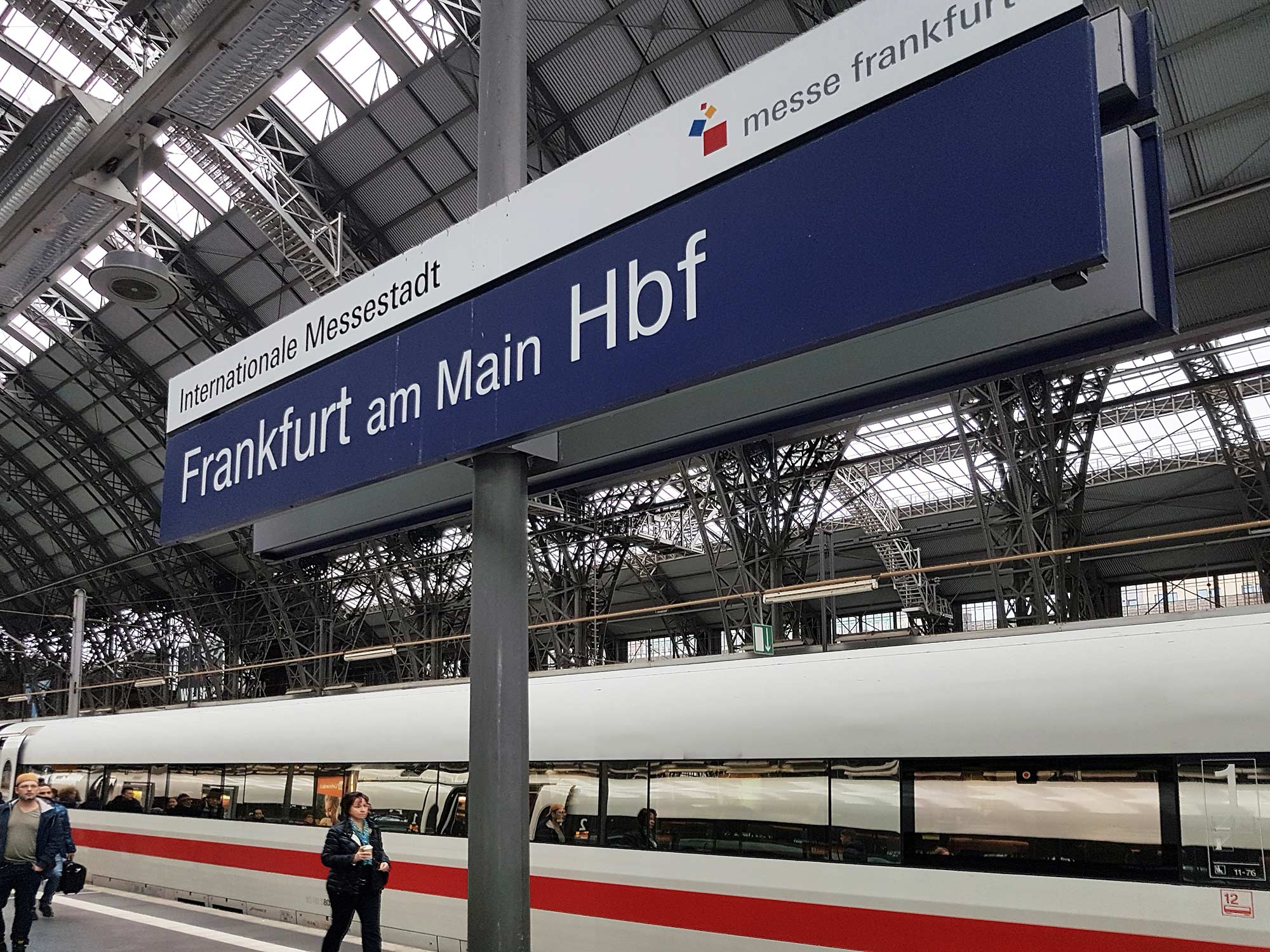 Internationale Messestadt Frankfurt - Hauptbahnhof Frankfurt am Main