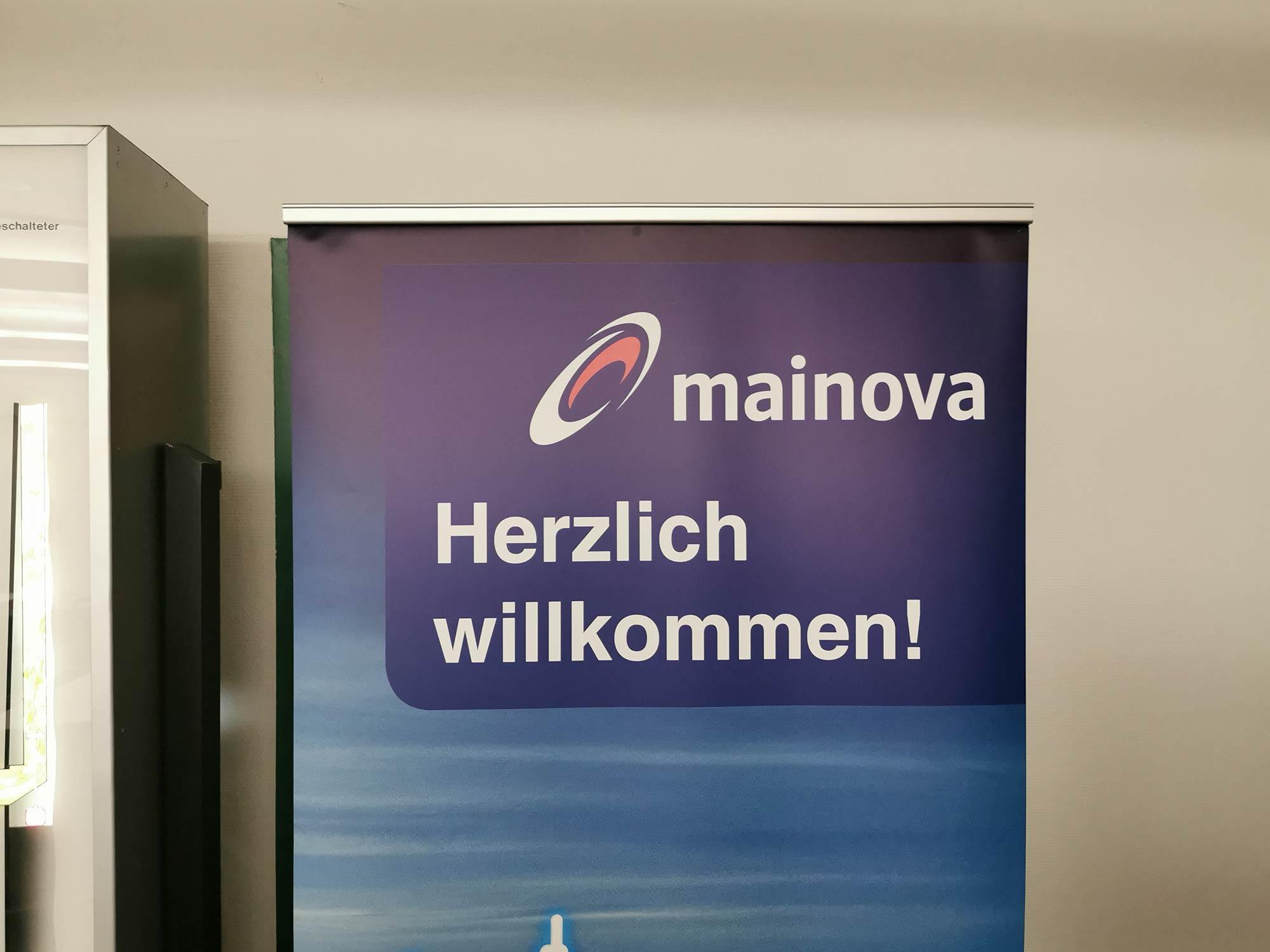 Mainova AG Logo - Herzlich Willkommen
