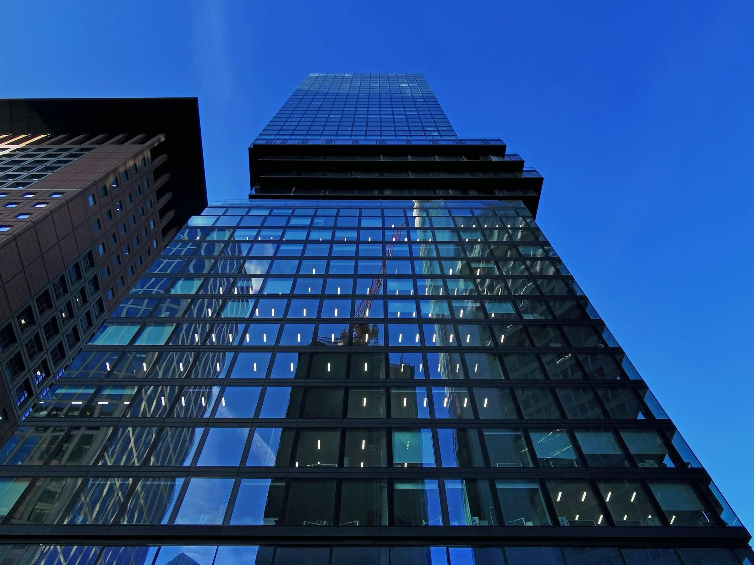 OmniTurm - Knick Turm Frankfurt - Wolkenkratzer 2020 Bankenviertel