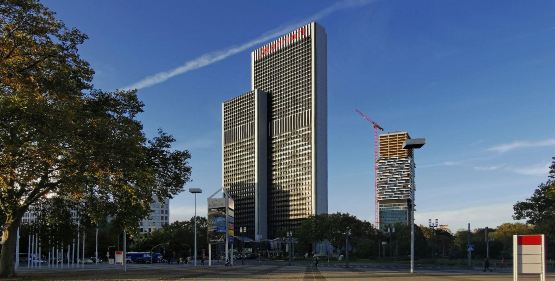 Westendgate Frankfurt - Westend Gate Frankfurt am Main - ehemals PBC Plaza Büro Center - Marriott Hotel Frankfurt