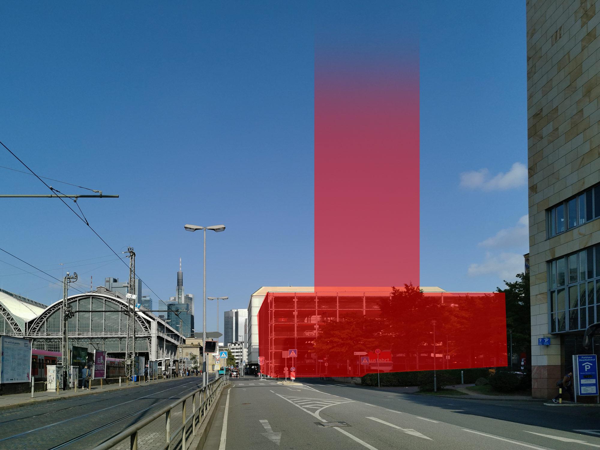 Campanile Frankfurt - Grundstück südlich des Hauptbahnhofs - HBF Süd Frankfurt Hochhaus
