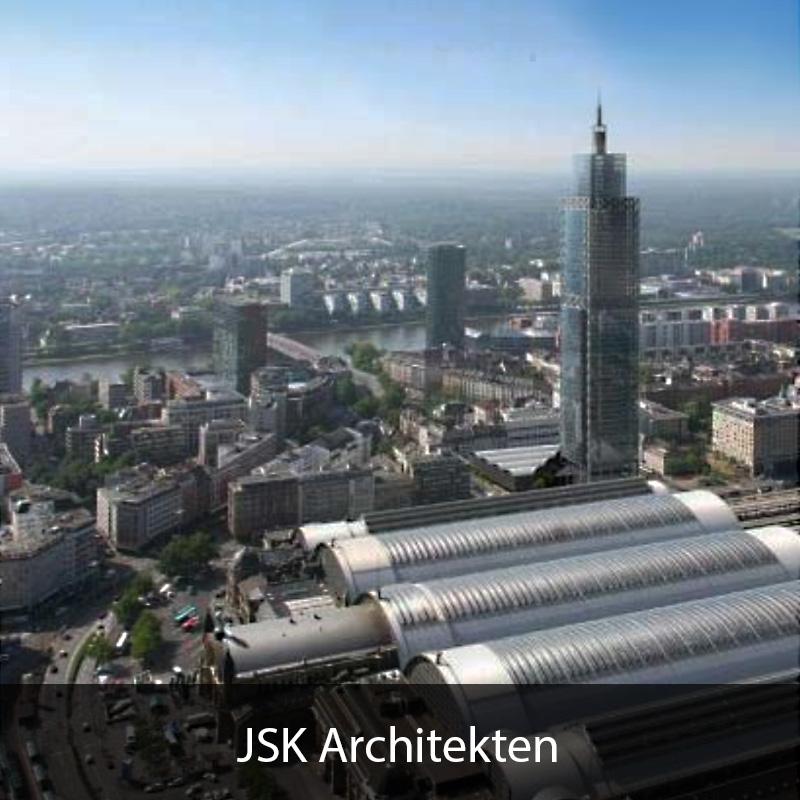 Campanile Frankfurt - Bahntower Frankfurt - JSK Architekten
