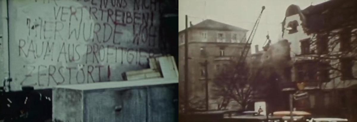Frankfurter Häuserkampf - Hausbesetzungen - Studentenprotest - 1968 - Westend