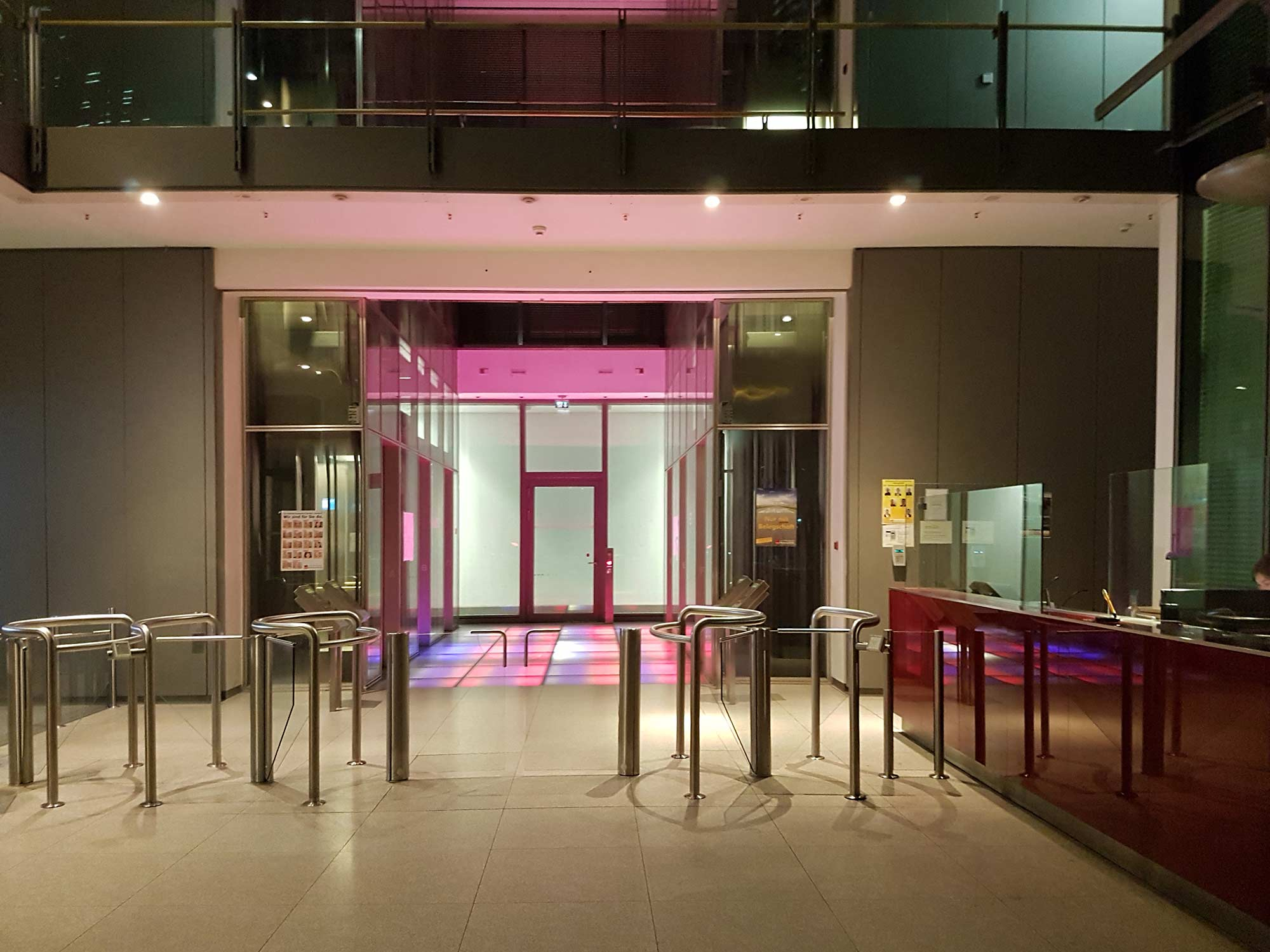 Gallileo Hochhaus Frankfurt - Lobby - Eingangsbereich
