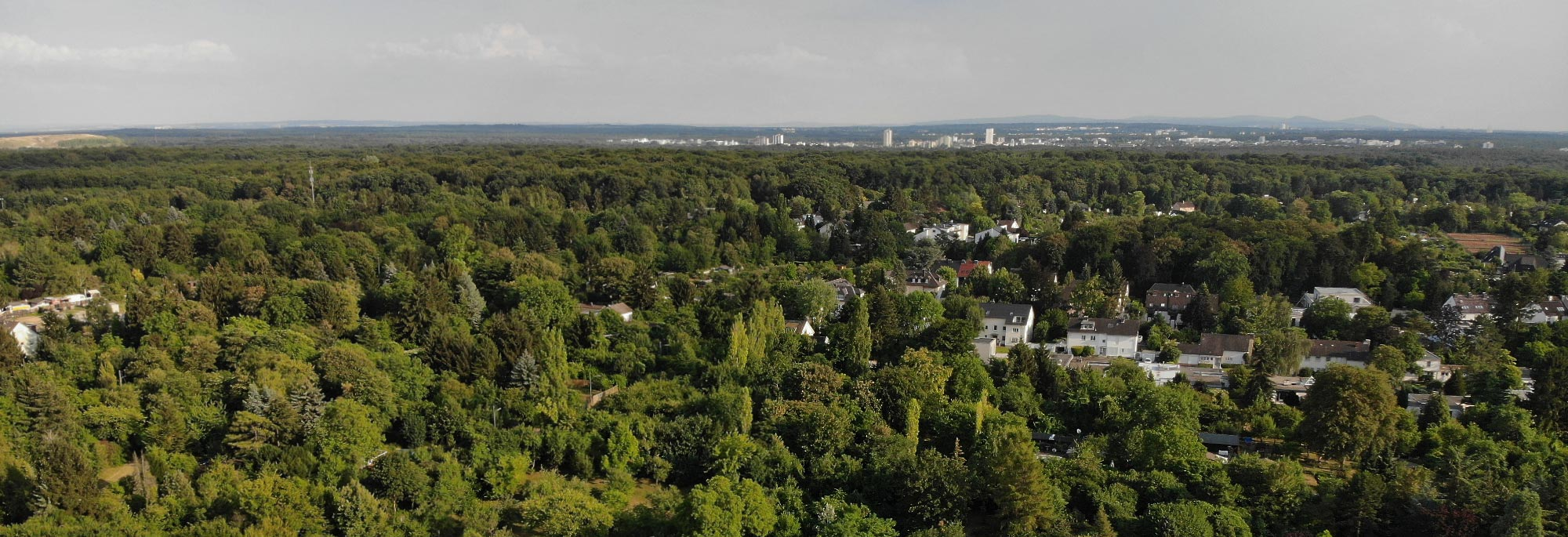 Grüngürtel Frankfurt am Main - Landschaftsschutzgebiet Frankfurt - Natuschutzgebiet - Frankfurt Stadtwald - Frankfurter Grüngürtel und Immobilien