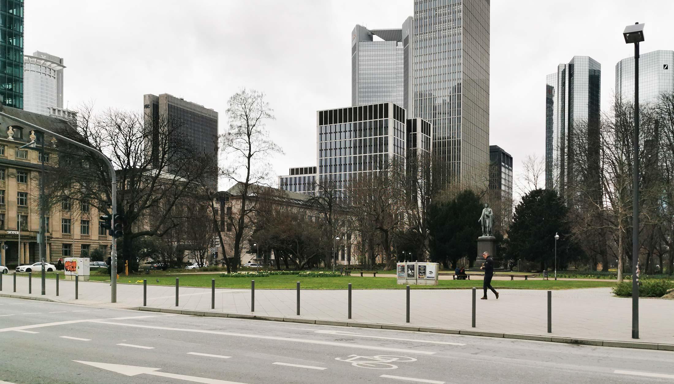 T8 Frankfurt Taunusanlage - Hochhaus Wallanlagen Bankenviertel