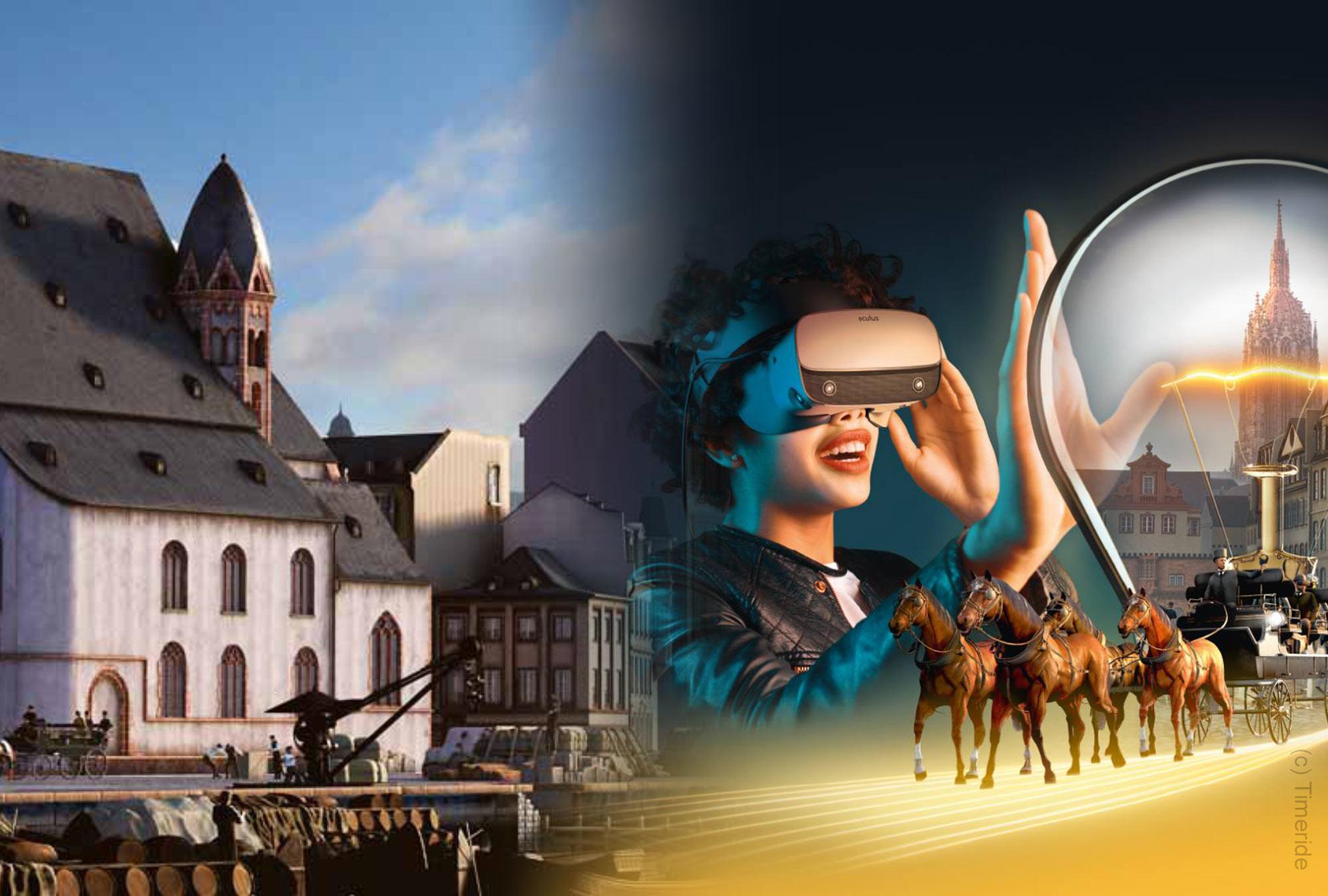 Timeride Frankfurt - Sehenswürdigkeit Frankfurt - VR Virtual Reality Tour - Stadtrundfahrt