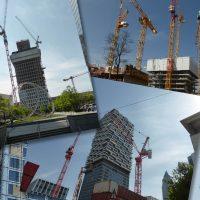 Wie stark lähmt das Coronavirus die Bautätigkeit bei den Hochhäusern?