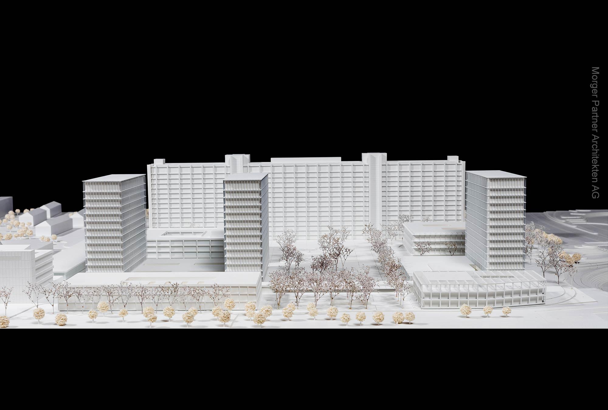 Campus Deutsche Bundesbank in Frankfurt am Main - Gewinner vom Architektenwettbewerb Morger Partner AG in Basel - Buba Frankfurt Erweiterung 2020