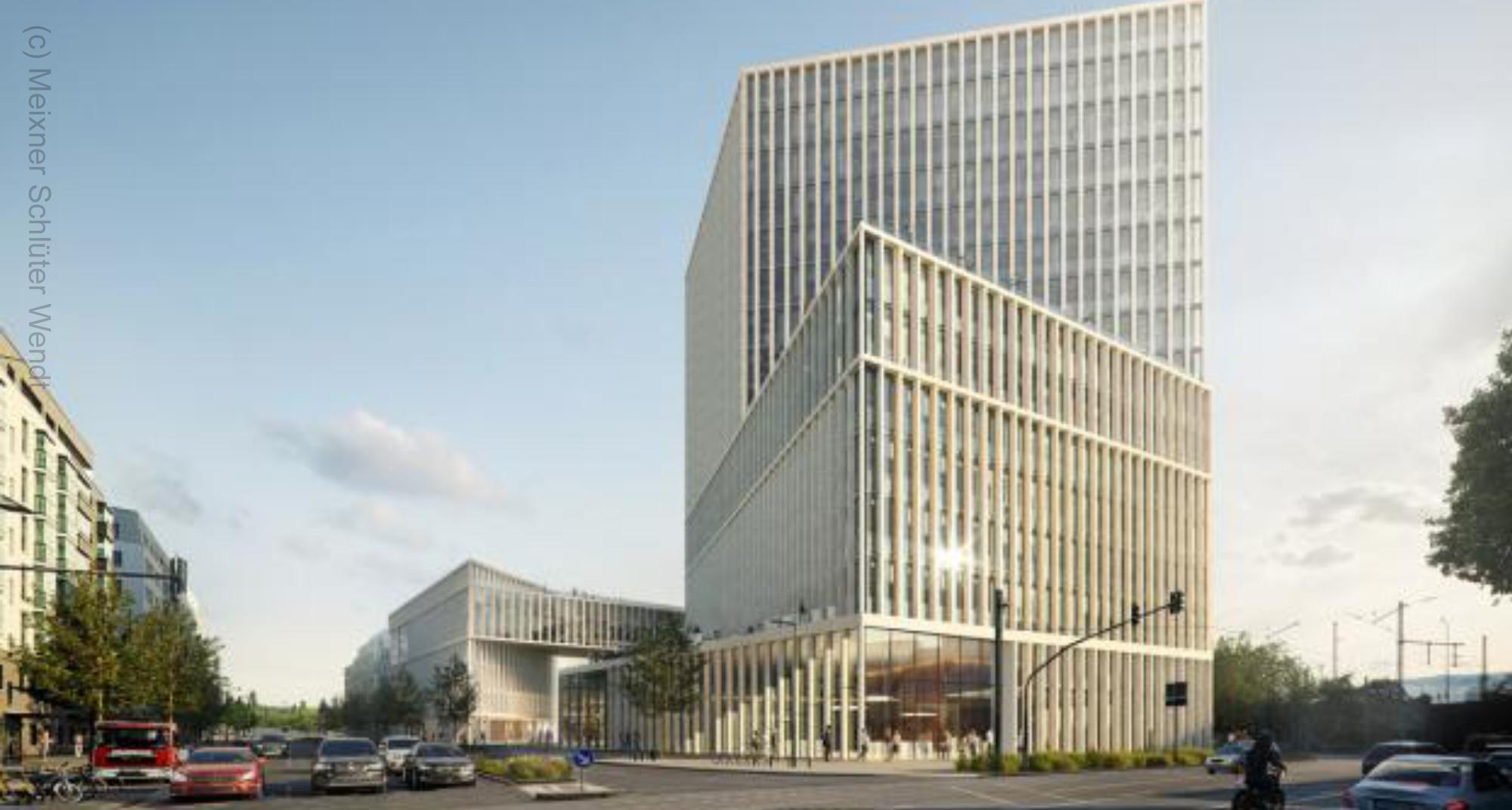 Architektenwettbewerb für Baufeld Nord im Hafenpark Quartier entschieden