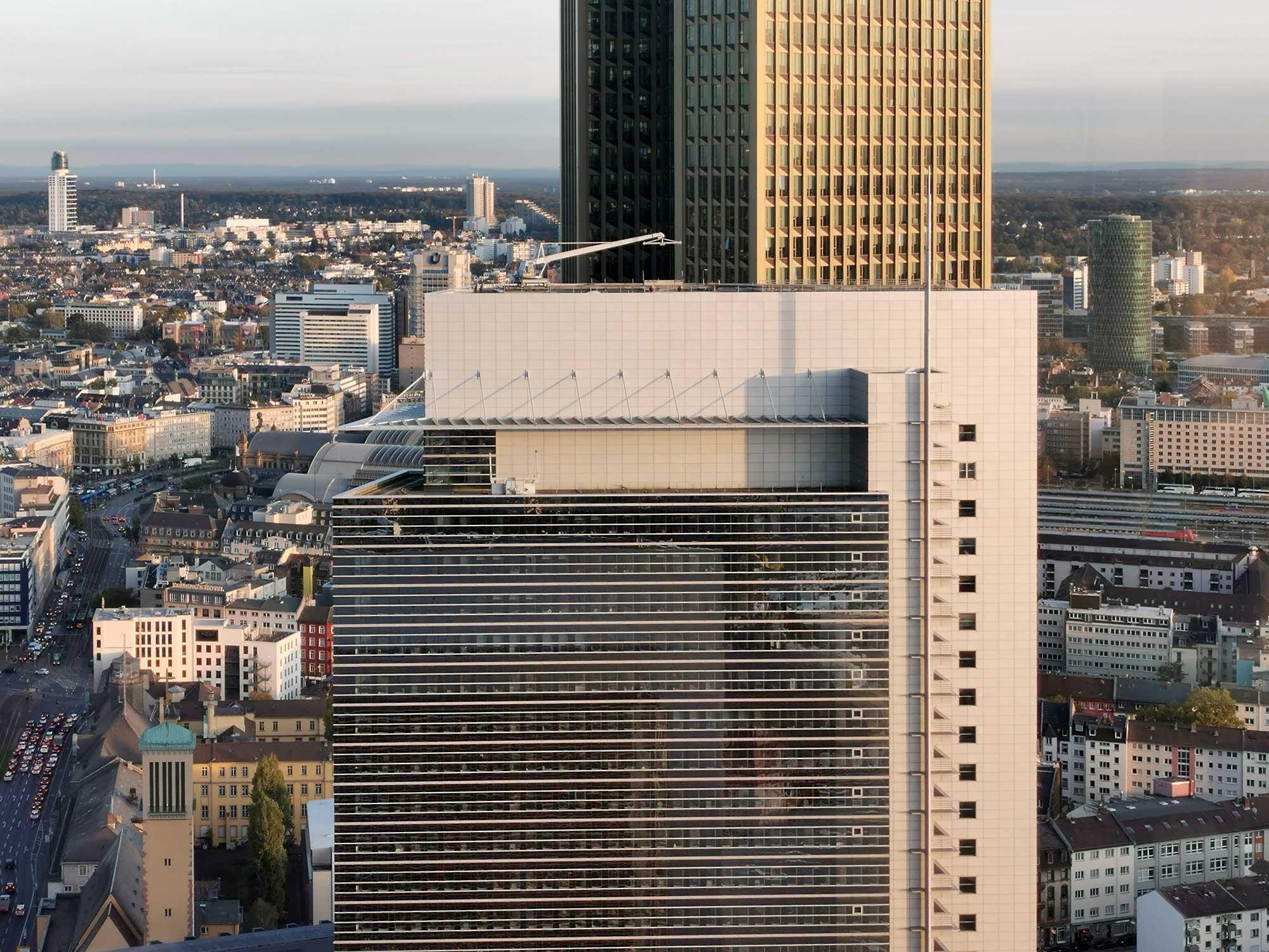 Forum Frankfurt - Pollux Turm Frankfurt am Main von KPF Architekten - Techquartier Sitz Fintech
