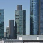 Garden Tower Frankfurt - Helaba Hochhaus Neue Mainzer Straße Bankenviertel - Architektur von KSP Jürgen Engel Architekten