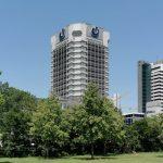Union Investment Frankfurt am Main - Hochhaus Mainufer Union Investment - Bankturm - ehemaliges Hochhaus Neue Heimat