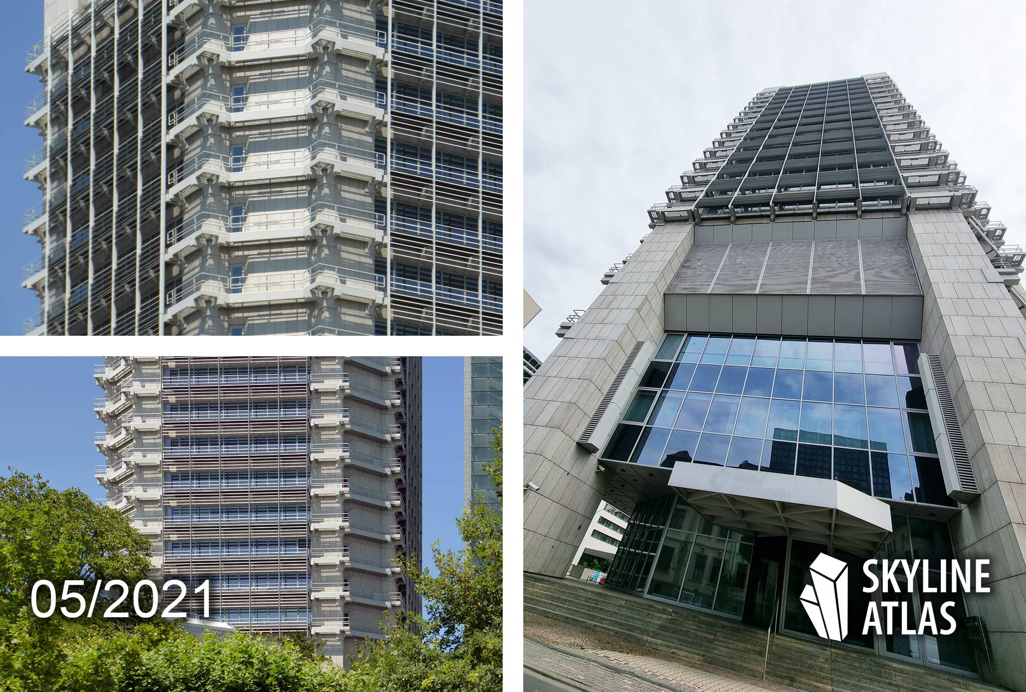 Union Investment Hochhaus - Entmietung Frankfurt Hochhaus - Mai 2021