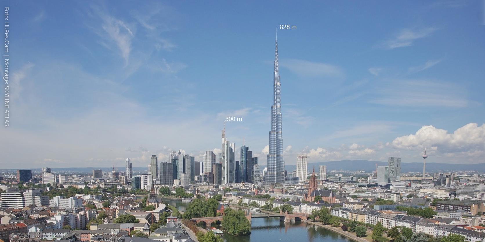 Burj Khalifa in Frankfurt