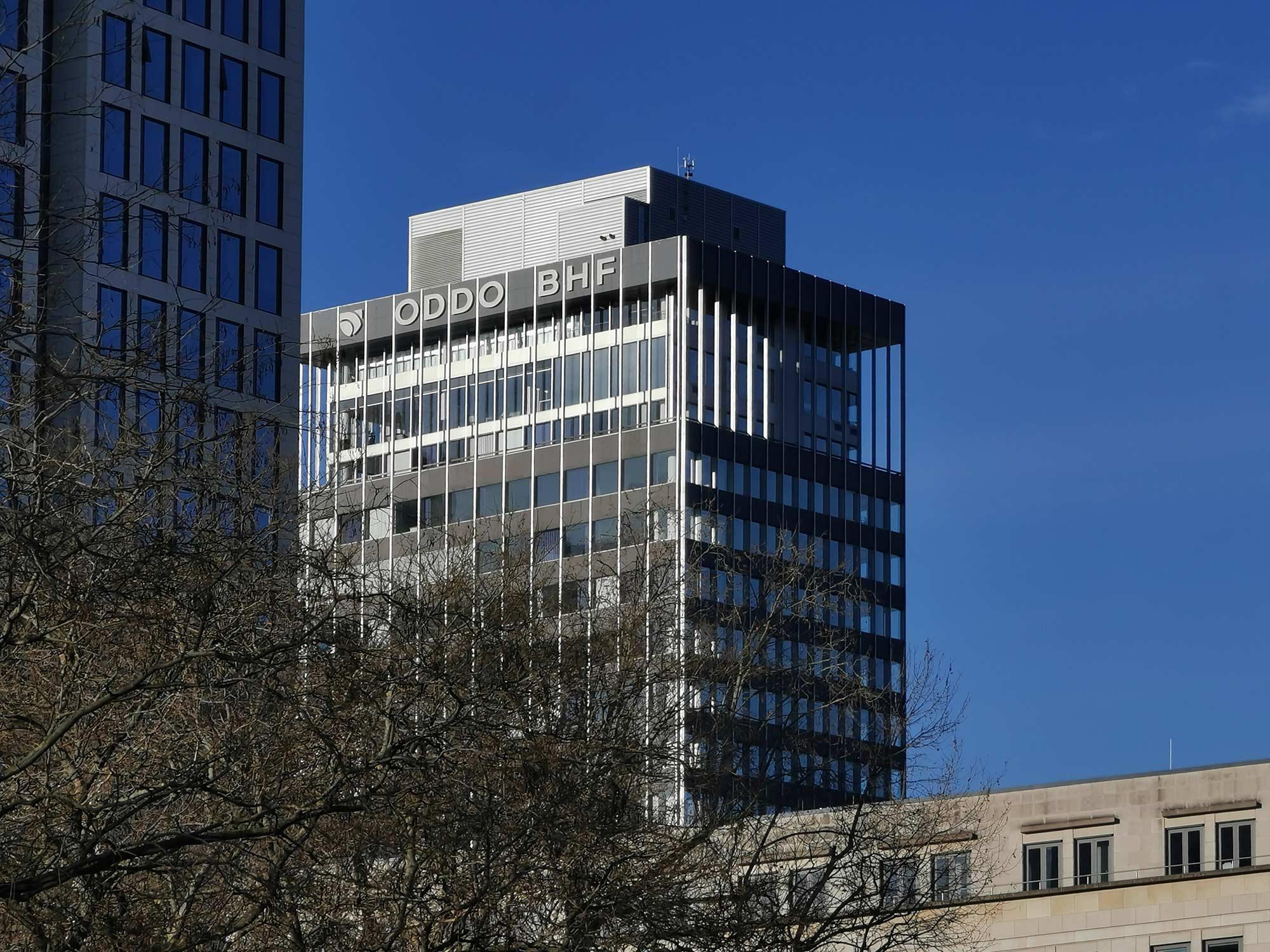 ODDO BHF Tower Frankfurt - BHF Bank Turmkopf