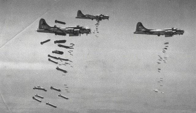 Bombenangriffe im Zweiten Weltkrieg auf Deutschland