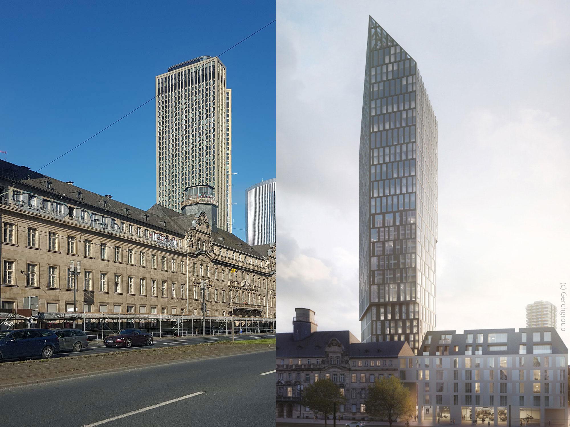 Turm am Alten Polizeipräsidium Frankfurt: Sieger vorgestellt