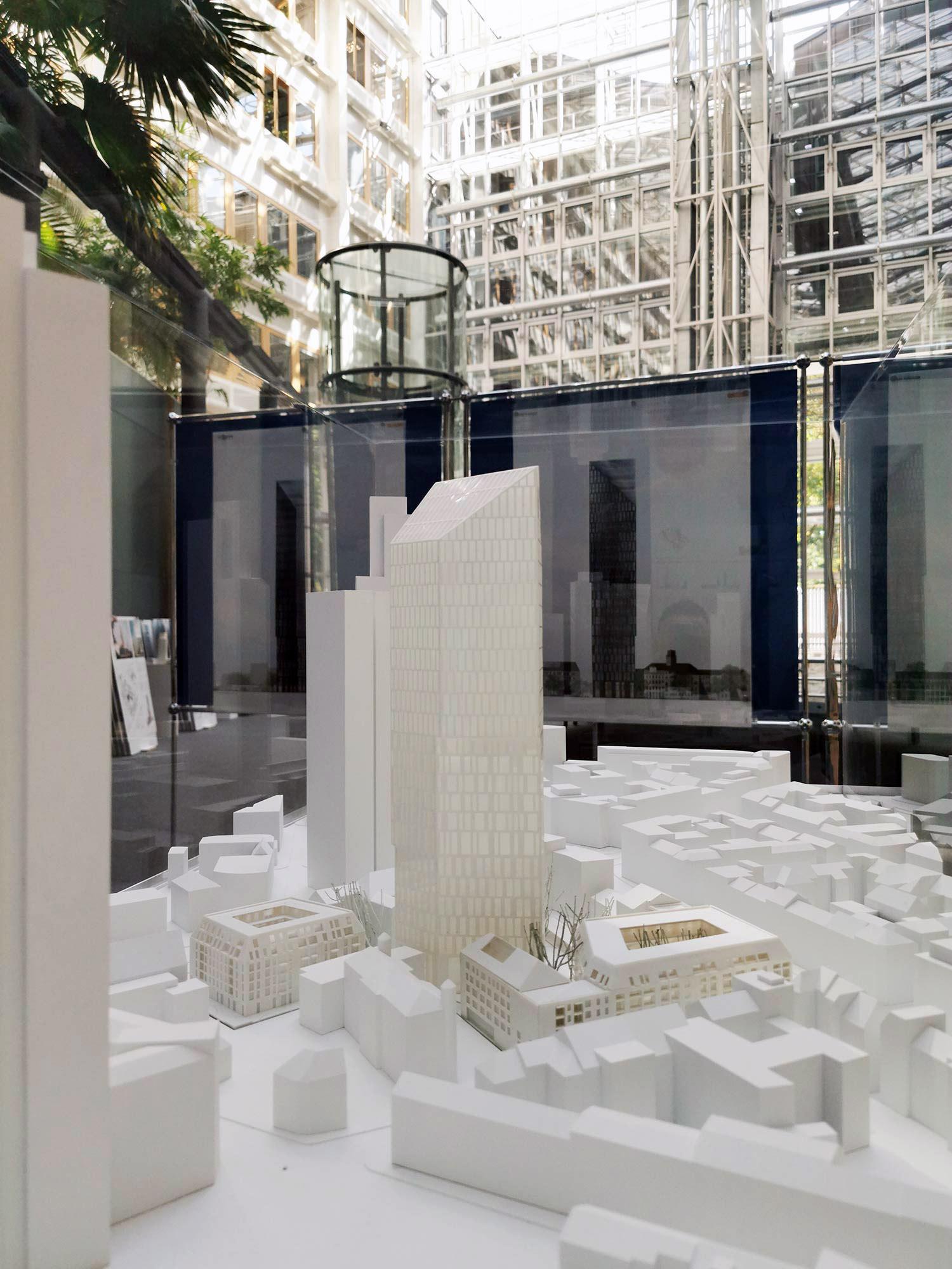 Das Prädium - Hochhausmodell Frankfurt