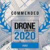 Drohnenfilm Frankfurt ausgezeichnet - Silence gewinnt Award - Sienna Drone Photo Awards - Lockdown Video Silence von SKYLINE ATLAS Autor Thomas Gessner