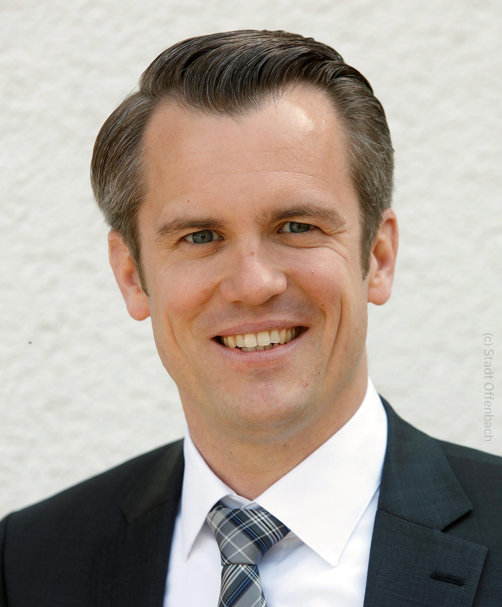 Felix Schwenke (SPD) - Bürgermeister der Stadt Offenbach - Oberbürgermeister Offenbach am Main