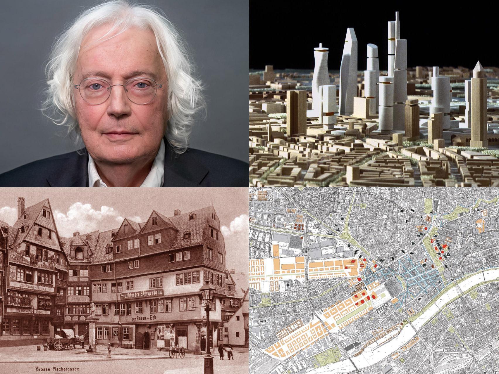 Professor Jochem Jourdan - Architektur und Stadtplaner in Frankfurt am Main - Hochhausentwicklungsplan Frankfurt - Interview