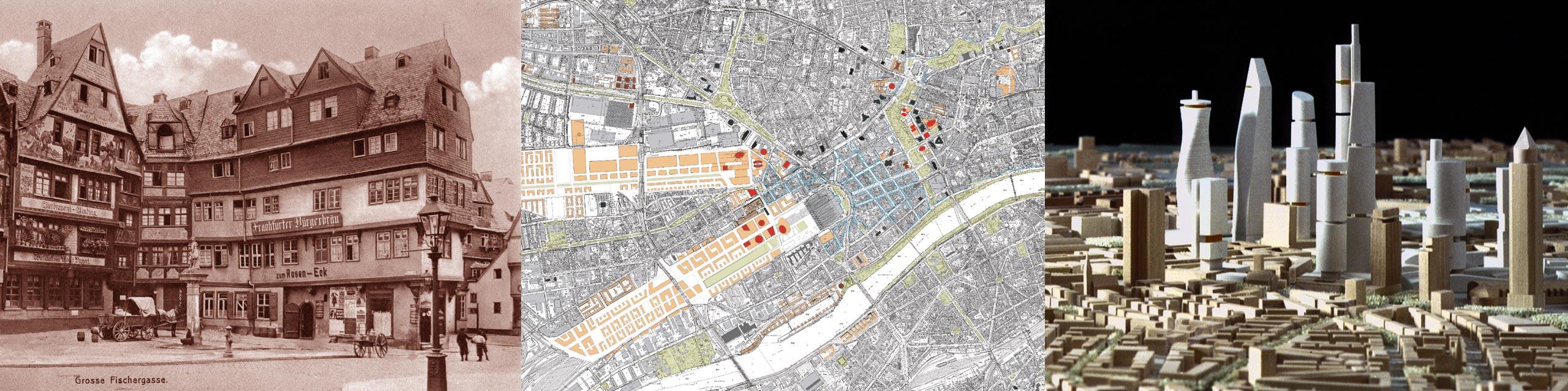 Jourdan & Müller PAS - Hochhausleitbild Frankfurt - Hochhaus Entwicklungspläne - Rahmenpläne für den Bau neuer Wolkenkratzer