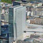 Jumeirah Frankfurt Hotel - Entworften von KSP Jürgen Engel Architekten - Palaisquartier Frankfurt - Hotelturm der Jumeirah Group