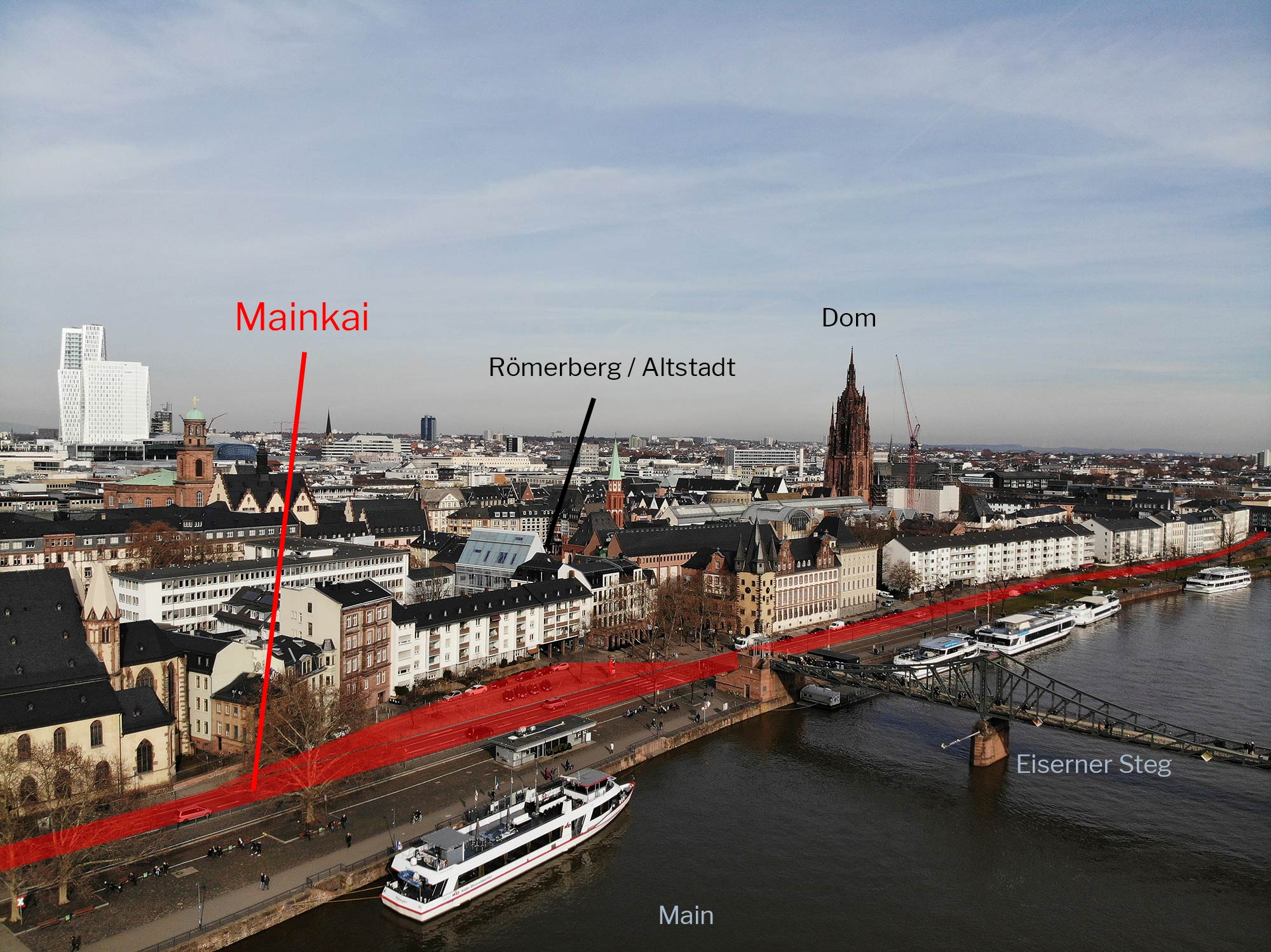 Frankfurt am Main - Mainkai für alle - Aufruf an Stadtverordnete