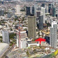 Hochhäuser am Millennium Areal