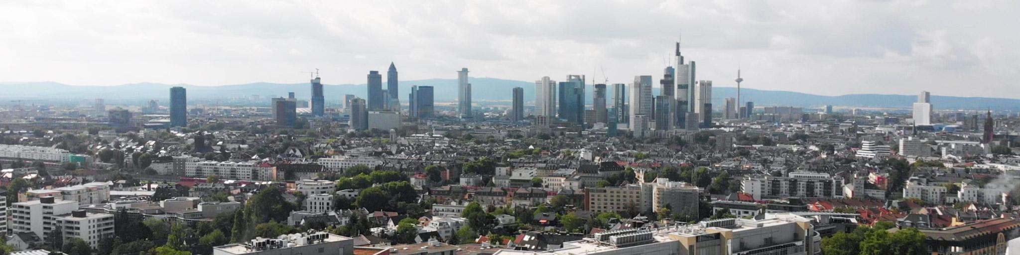 Panorama Frankfurt - Architektur zum Mitmachen - Hochhäuser Frankfurt
