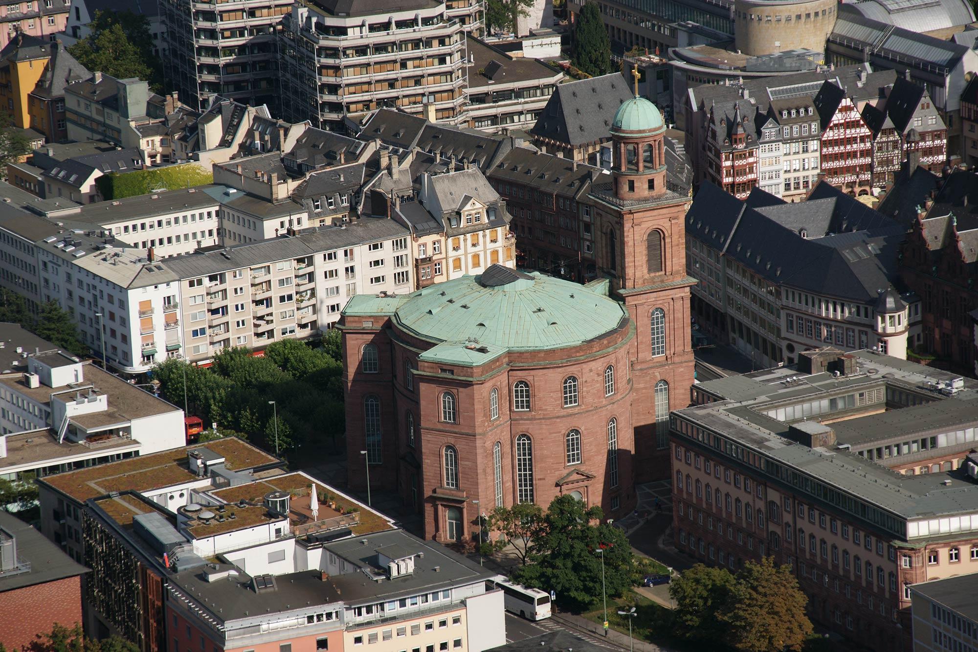 Paulskirche Frankfurt Altstadt