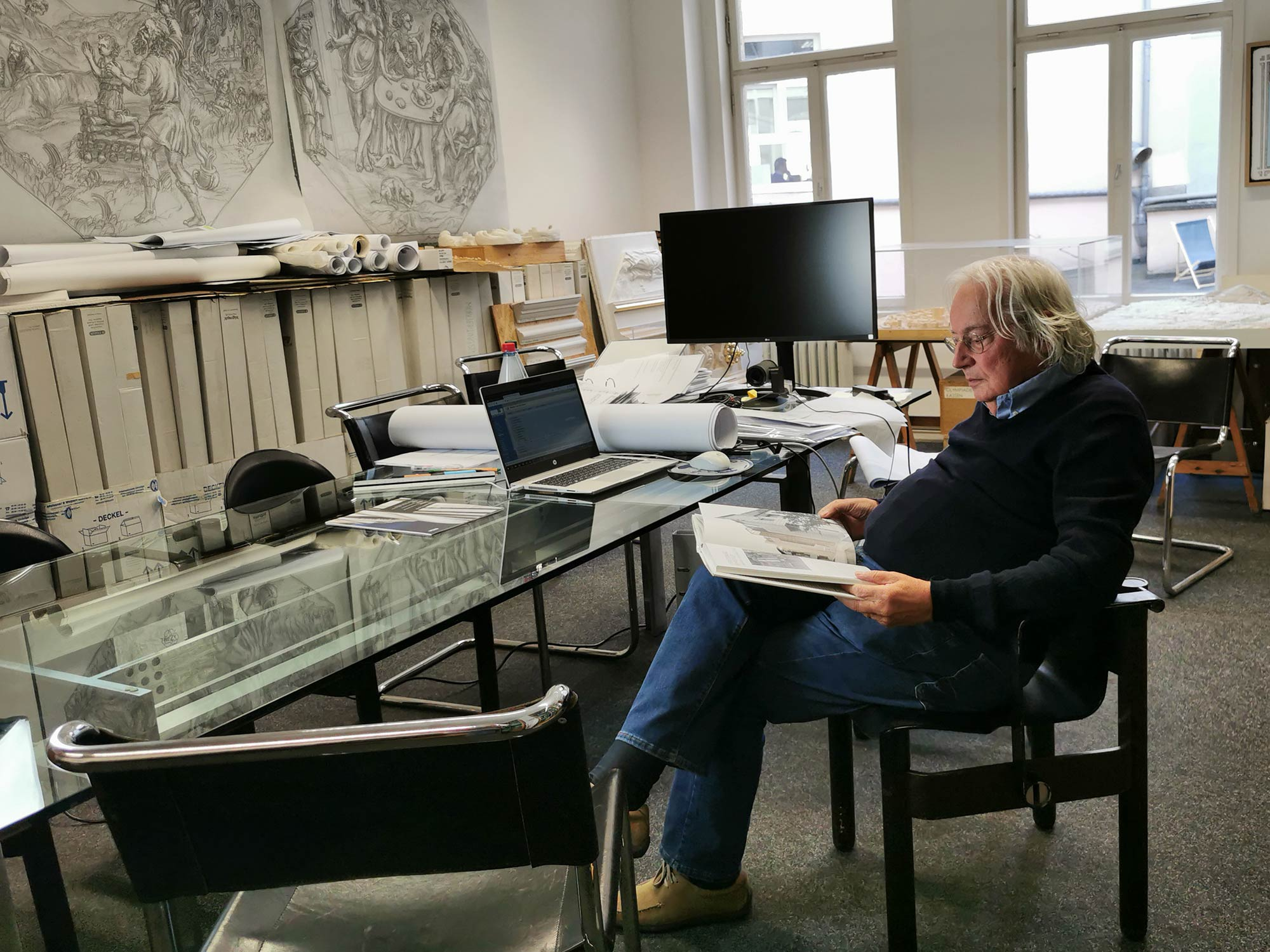 Professor Jochem Jourdan im Interview über Architektur in Frankfurt